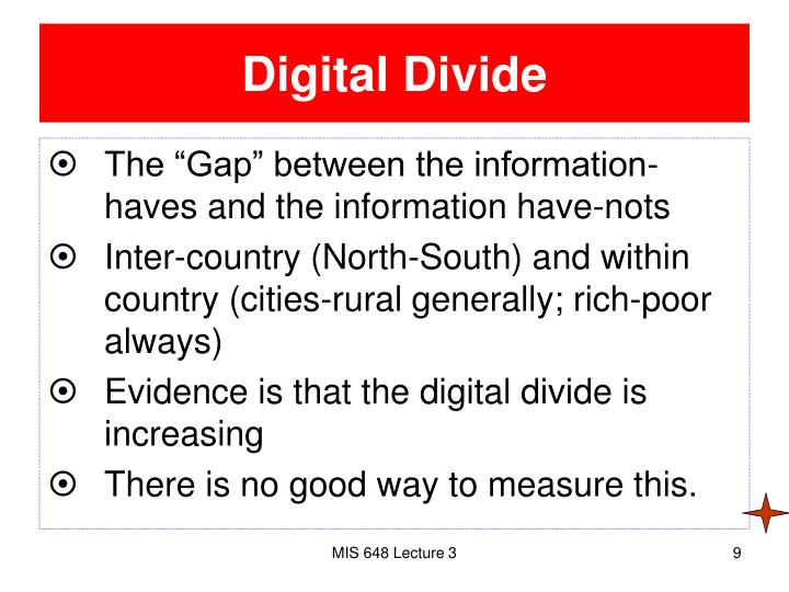 an analysis of narrowing the gap of the digital divide How to narrow the digital divide in your school betsy price, westminster college digital divide is between classrooms in a school, not between schools where we expected it to be the gap in their schools.