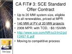 ca fit 3 sce standard offer contract