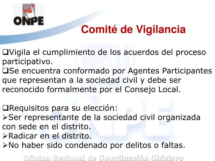 Comité de Vigilancia