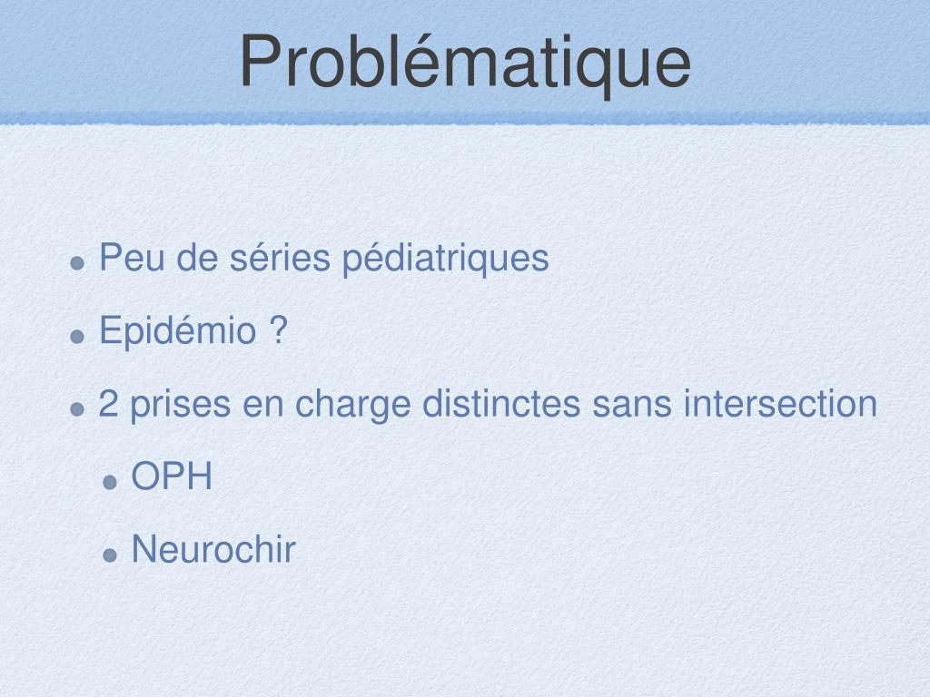 PPT - Hypertension intracrânienne bénigne PowerPoint..