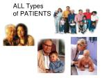 all types of patients