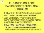 el camino college radiologic technology program1