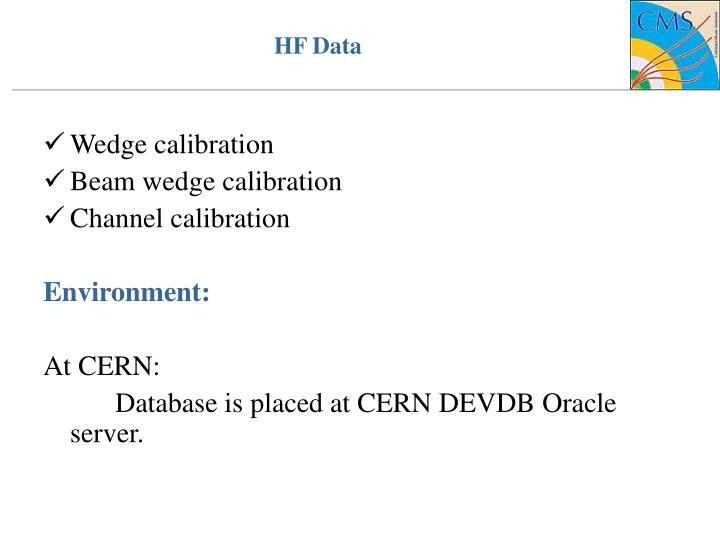 HF Data