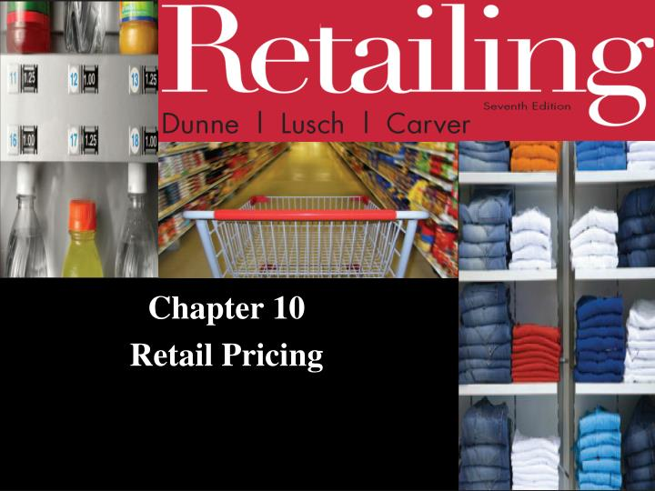 chapter 10 retail pricing n.