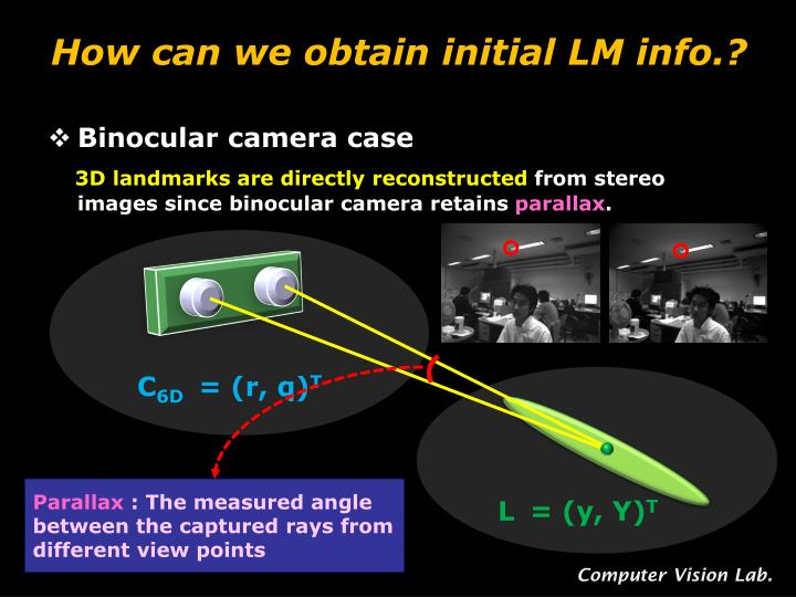 How can we obtain initial LM info.?