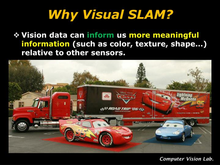 Why Visual SLAM?
