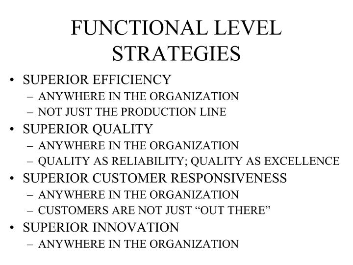 disney functional level strategic What business level what business level strategy (ies) is marriot pursuing what functional level strategies dose marriot need to develop to support its.