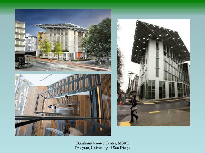 Burnham-Moores Center, MSRE Program, University of San Diego