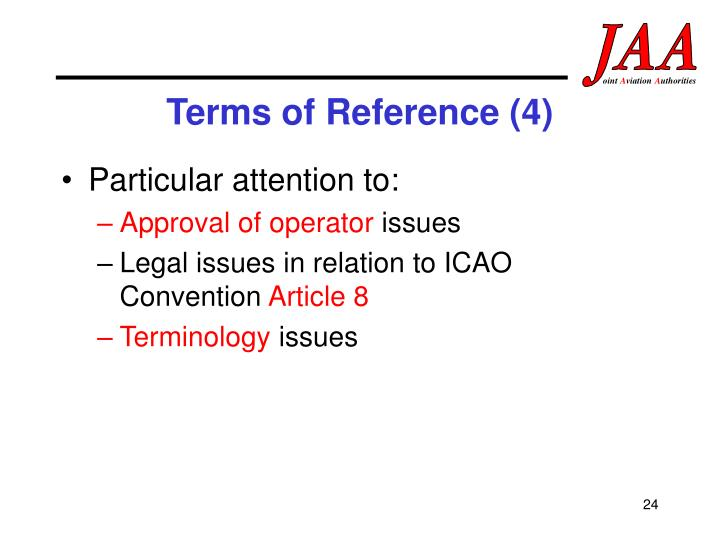 Terms of Reference (4)