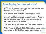 bank payday account advance