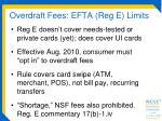 overdraft fees efta reg e limits