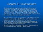 chapter 5 constructivism12