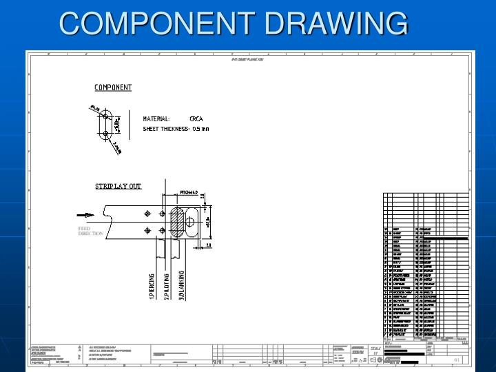 Component drawing