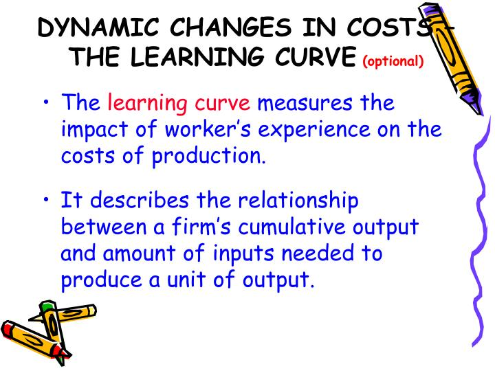 the learning curve theory Experience and learning curve models are developed from the basic premise that individuals and organizations acquire knowledge by doing work by gaining experience through repetition, organizations and individuals develop relatively permanent changes in behavior or learning as additional.