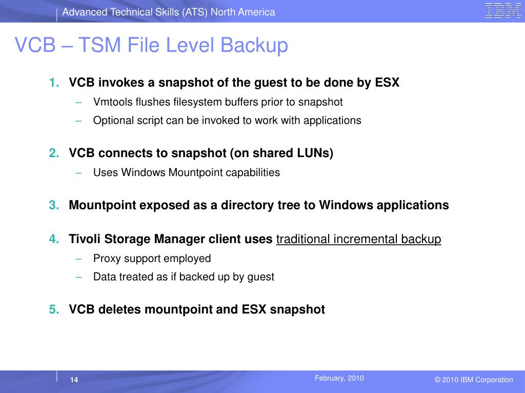 PPT - Protecting VMware Virtual Machines with Tivoli Storage Manager