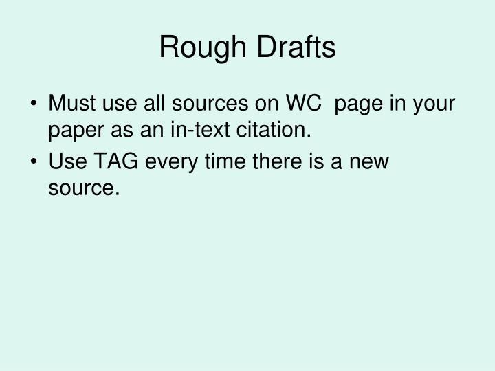 Rough drafts1