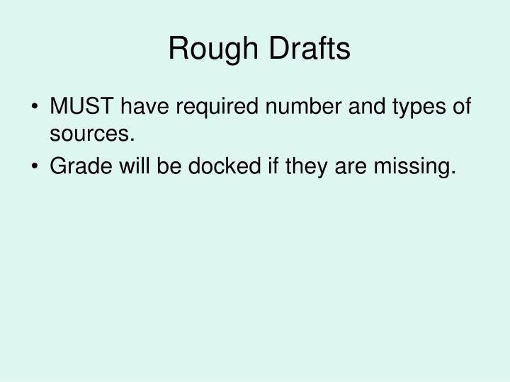 Rough drafts2