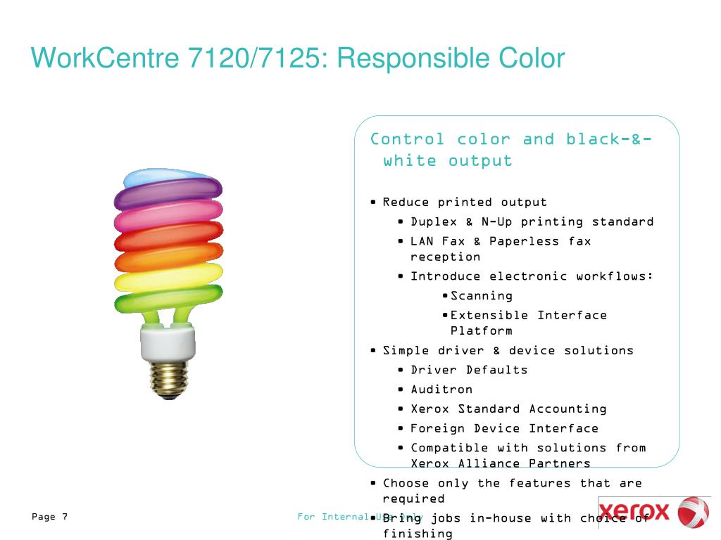 PPT - WorkCentre 7120/7125 PowerPoint Presentation - ID:4528018