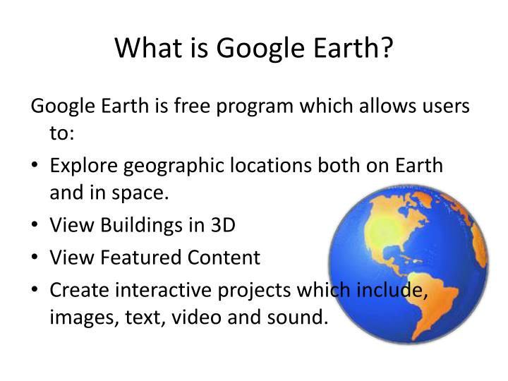 Adding google earth to powerpoint – another method – random.