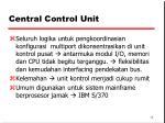central control unit1