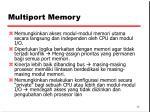 multiport memory