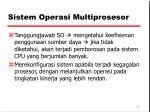 sistem operasi multiprosesor2