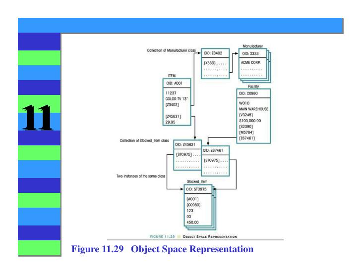 Figure 11.29   Object Space Representation