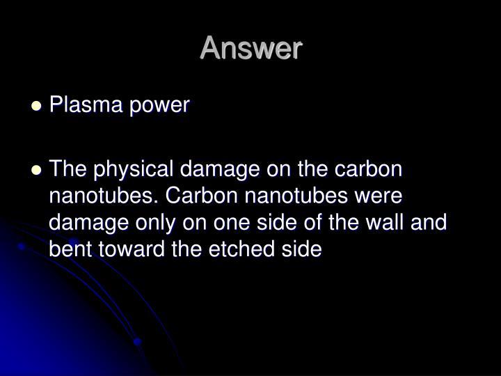 Ppt Plasma Cvd Carbon Nanotubes Powerpoint Presentation
