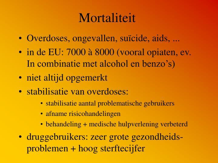 Mortaliteit