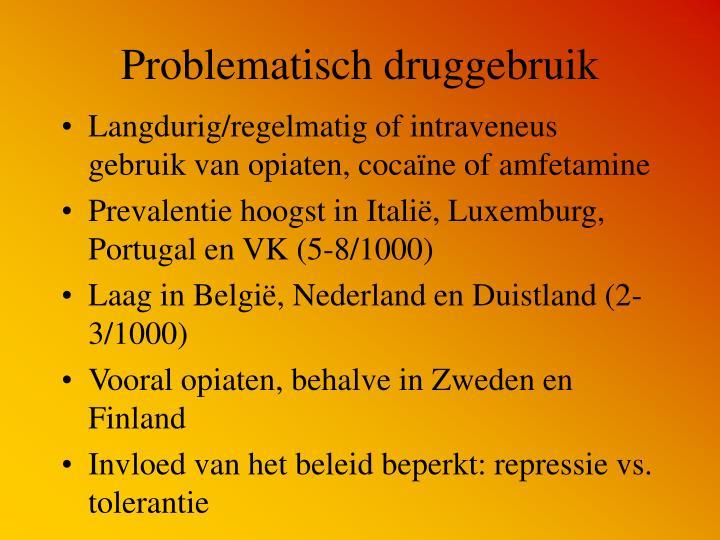 Problematisch druggebruik