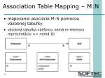 association table mapping m n
