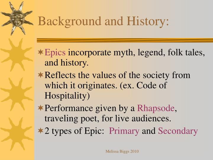 Background and History: