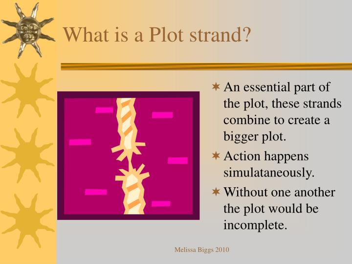 What is a Plot strand?