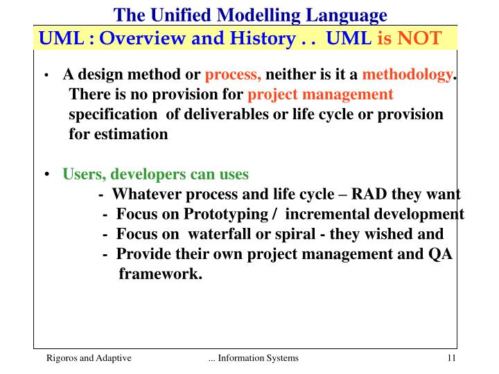 unified modeling language and main success The unified modeling language (uml) [11] has established itself as an industry standard for describing and designing software systems uml offers different unified modeling language user guide, the unified.