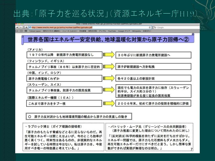 出典:「原子力を巡る状況」(資源エネルギー庁