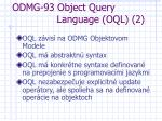 odmg 93 object query language oql 2