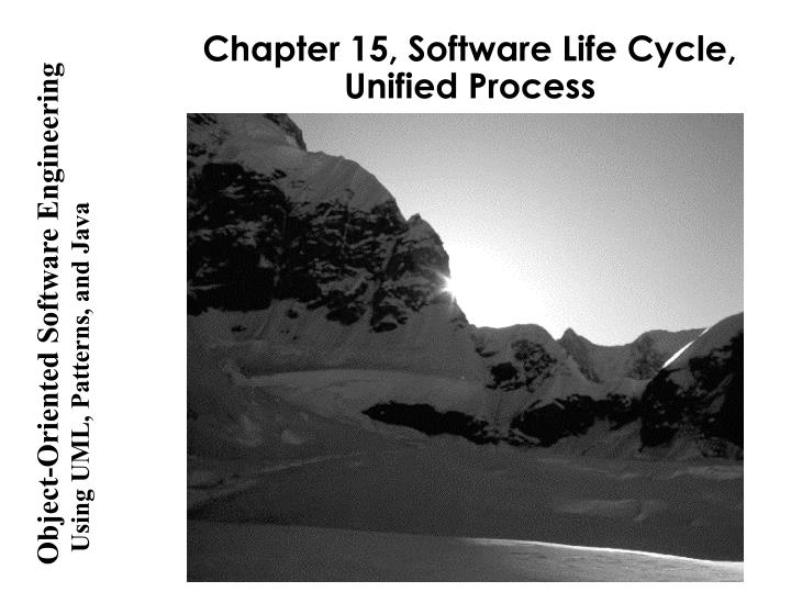 chapter 15 software life cycle unified process n.