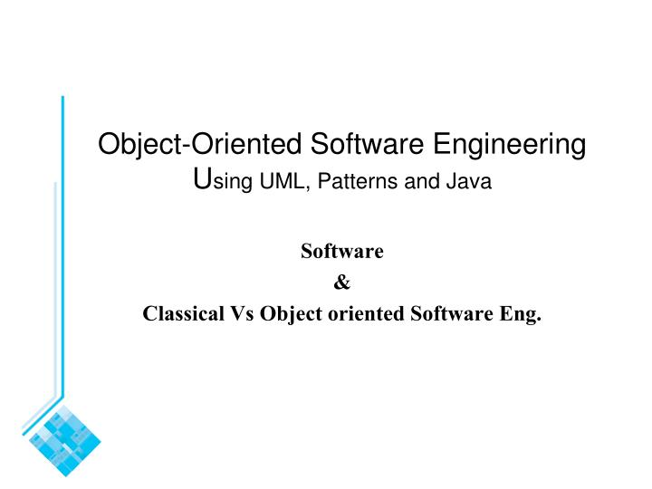 software development cohesion in object oriented systems To measure cohesion in object-oriented systems takes place third, a unified framework, based on the issues discovered in the review, is provided and all existing measures are then classified according to this framework.