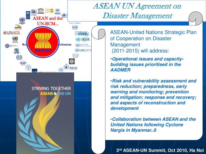 ASEAN UN Agreement on