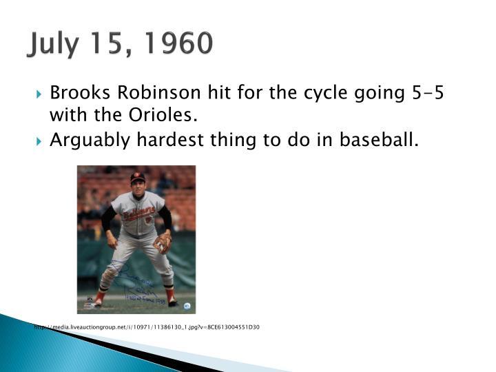 July 15, 1960