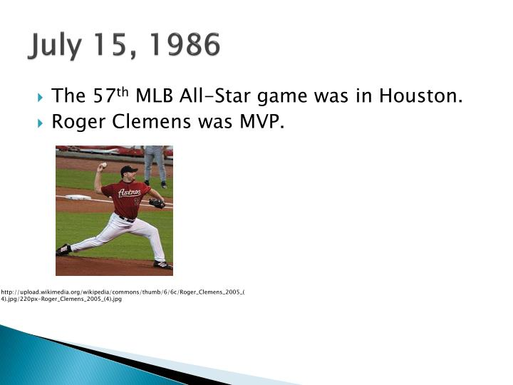 July 15, 1986