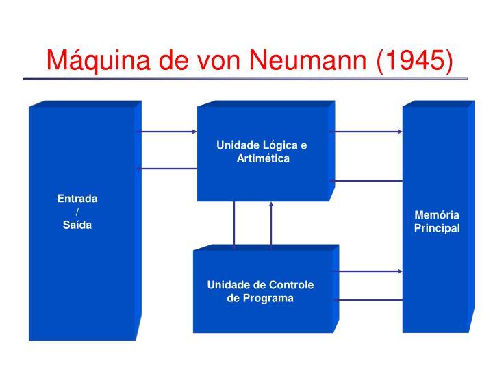 Máquina de von Neumann (1945)