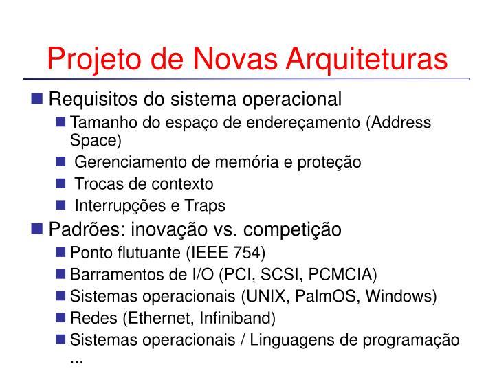 Projeto de Novas Arquiteturas