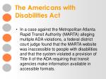 the americans with disabilities act8