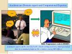 academician domain expert and computational expertise