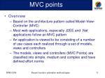 mvc points