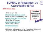 bureau of assessment and accountability baa