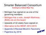 smarter balanced consortium coming to a school near you