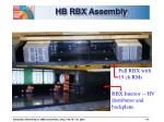 hb rbx assembly