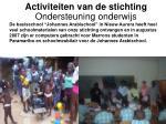 activiteiten van de stichting10